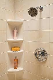 Plastic Corner Shower Shelves Shower Corner Rack Tiathompsonme 54