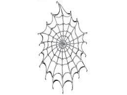 Spider Web Tattoo Stencil Outlines