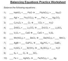 balancing equations worksheet chemical practice answer key chemfiesta wiki large size
