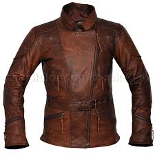 3 4 long demi brown womens biker jacket charlie london leather jackets for men and women free uk delivery