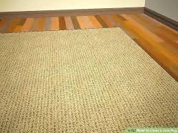 jute rug image titled clean a step 9 west elm platinum ivory round jute rug