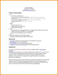 Oracle Developer Resume Sample Krida Info Soa Marvelous In It Format