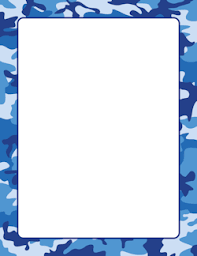 Small Picture Blue Camouflage Border Page Borders Pinterest Stationary