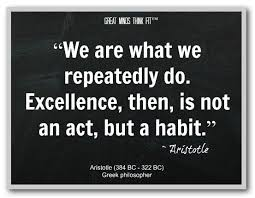 Aristotle Excellence Quote Custom Quotes About Education Excellence Success Quotes Pinterest