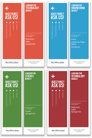Clean Easy To Read Bern Dibner Library Bookmarks Print
