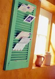 diy office storage ideas. 5 reuse an old shutter diy office storage ideas