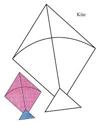 Color Page Kite Free Coloring Library
