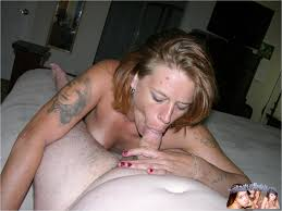 Mature amature blow job
