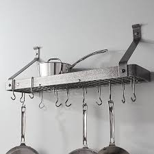hammered steel gourmet bookshelf rack