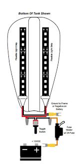 motorcycle engine led lighting kit single color 12v led tape toggle switch option wiring diagram mel kit x60 motorcycle led kit