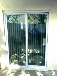 replace sliding glass door labor cost to install after slider replacement i want french doors sliders