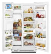 white refrigerator with ice maker. refrigerator white (ice-maker) 25.3 cu ft. energy star® : pur® water filtration automatic defrost with ice maker e
