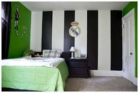 bedrooms for boys soccer. Unique Boys Top Soccer Bedroom Ideas Of Boys With Black Stripes Throughout Bedrooms For Soccer