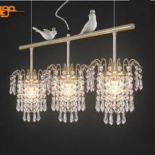 new design bird crystal chandelier lighting modern hanging lampe length