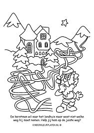 Onderwerp Doolhof Spelletjes Gratis Kleurplaten Downloaden En Printen