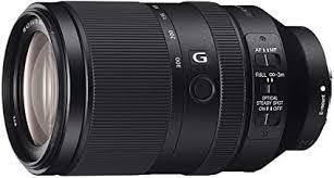 <b>Sony SEL</b>-<b>70300G</b> Teleobiettivo con Zoom 70-300 mm F4.5-5.6 ...
