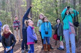 the color of choice local charter schools offer options soaking in nature evergreen community charter school fourth graders participate in citizen science by