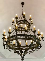 High End Light Fixtures Wrought Iron Lighting Chandeliers Mission Lighting