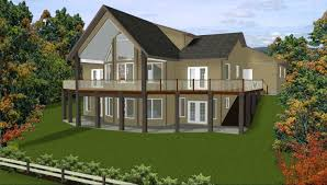 amazing house plans with bedrooms in basement and house plans walkout basement ranch narrow lot intended