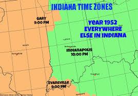 Indiana Time Zone 1952 Imgur