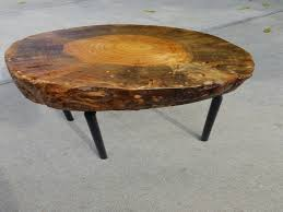 Tree Trunk Coffee Table Best Of Live Edge Reclaimed Tree Stump Side Table  Reclaimed Coffee