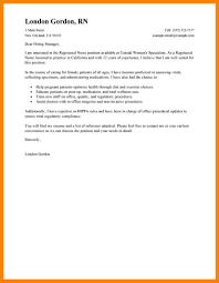 8 Sample Nursing Cover Letter Incidental Report