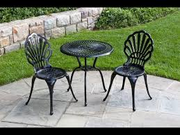 Attractive Metal Outdoor Table And Chairs Metal Outdoor Furniture