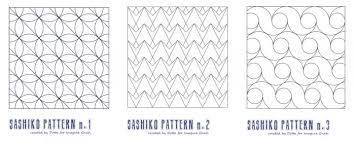 Sashiko Patterns Inspiration Handstitching Sashiko Cheat Sheet Imagine Gnats