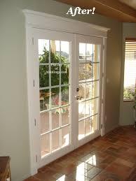 patio french double door trim
