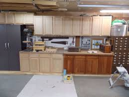 stain unfinished cabinets. Unfinished Oak Cabinets Before Staining With Stain