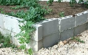 painted cinder block garden concrete block garden walls cinder block garden concrete block garden wall painted
