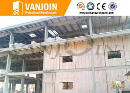 fire resistant interior sandwich wall panels for villa prefab house easy and fast install