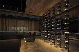 wine rack lighting. introducing a wine racking system guaranteed to show your bottles in the best light mp lighting ultramodern rack has sleek metal design with i