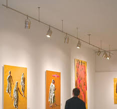 track lighting for art. how to light a wall with recessed and track lighting for art i