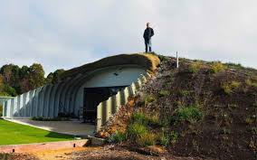 underground homes. Exellent Underground Sustainable Hobbit Home Western Australia Quindalup  Earthsheltered For Underground Homes D