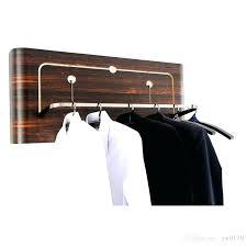 mounted coat rack new wall mounted coat rack creative use for hotel home decor solid wooden clothes racks ebony grain coat rack hangers cloth