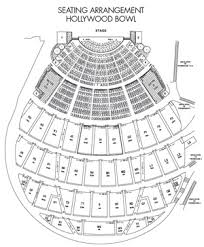 Hollywood Bowl Garden Box Seating Chart Seating Chart Hollywood Bowl Tips