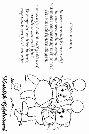 Kleurplaat Verjaardag Mama Beste Van Favoriete Papa Jarig Gedicht