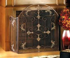 40 inch tall fireplace screens s