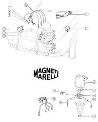 Fiat 124 dual point ignition 1973 77 1592 1756cc fiat 500 and rh middlebartongarage ford electronic distributor wiring diagram 1983 dodge distributor