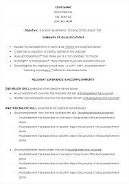 Chrono Functional Hybrid Resume Sample Template Format Inspiration Hybrid Resume