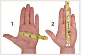 how to measure hand size for gloves ovation cotton pebble grip gloves in gloves at schneider saddlery