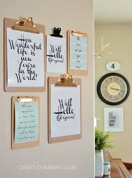 diy office wall decor. Plain Decor Try Putting Inspirational Messages On Clipboards And Hanging Them The  Wall  29 Impossibly Creative Ways To Completely Transform Your Walls Throughout Diy Office Wall Decor Pinterest
