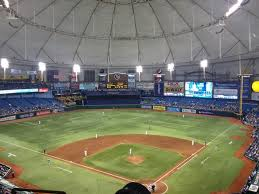 Rays Seating Chart With Rows Breakdown Of The Tropicana Field Seating Chart Tampa Bay Rays