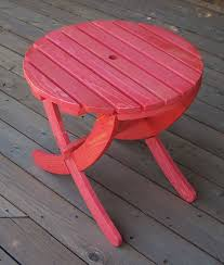 children s wooden play furniture collapsible round beach table with curved legs w 2413