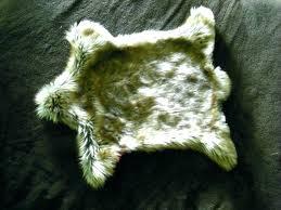 faux bear rug black bear skin rug with head co