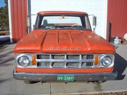 1968 Dodge Camper Special Pickup Truck V8 Engine Four Speed Manual ...