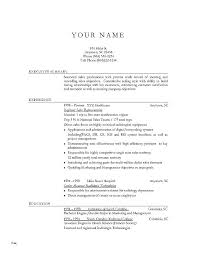 Objective Section Of Resume Objective Resume Examples Best Resume