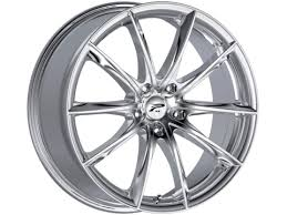 5x110 Bolt Pattern Custom Platinum 448C Flux 448X48 Chrome Plated Wheels 48X48 Bolt Pattern