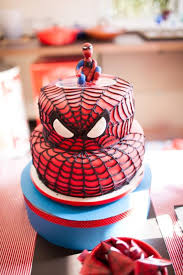 Karas Party Ideas Spiderman Party Planning Ideas Supplies Idea Cake